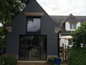 Transformation d un garage existant en cuisine