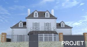Extension et surélévation d'une maison - Dinard - prévision 2020