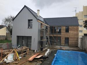 Extension et rénovation d'une maison - Dinard 2019